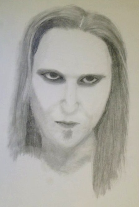 Alexi Laiho by CatiHIFK